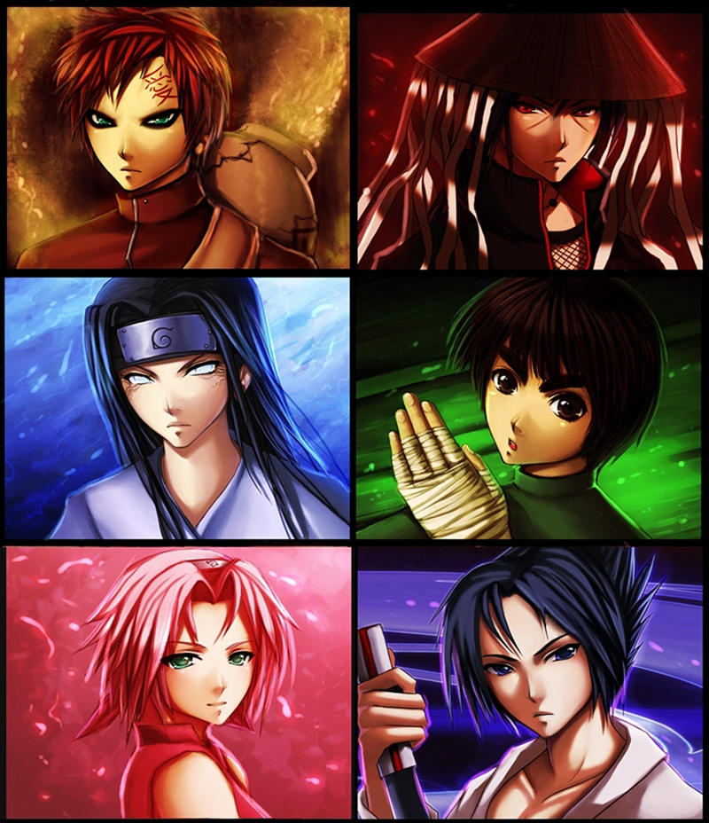 Naruto- Six by ramy