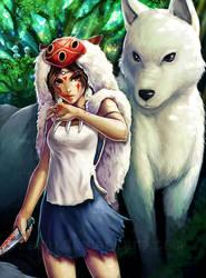 Princess Mononoke by ramy