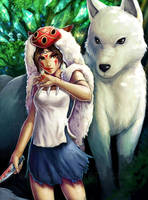 Princess Mononoke by ramy