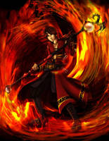 Dragon Flame by ramy