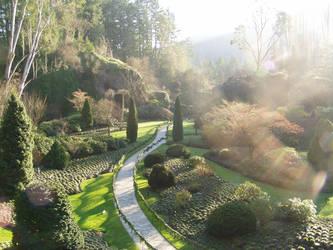 Butchart Gardens by Ecraseur-Tourniquet