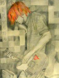 Kurt Cobain by Ecraseur-Tourniquet