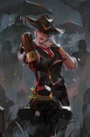 Ashe (Overwatch) by gantzu