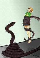 Chie Satonaka Coiled by amabelbeerens