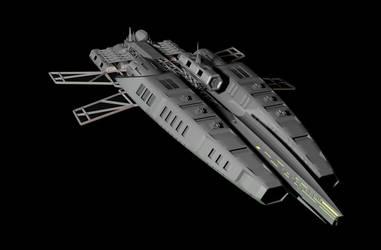 min ship concept by rik2110