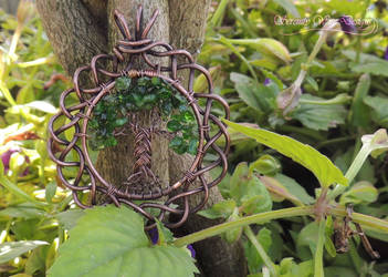 Celtic Tree of Life V2 *SOLD* by SerenityWireDesigns