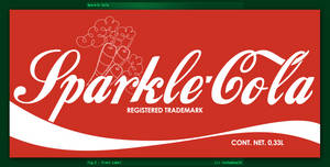 Sparke-Cola Bottle: Label (Fallout Equestria) by luckydonald