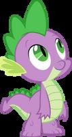 Spike looking up by Myardius