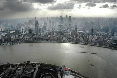 shanghai by HYPOTHRAXER