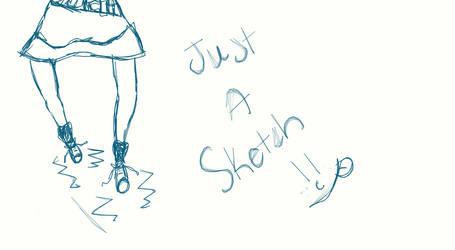 My Sim Sketch by HStandsForHero