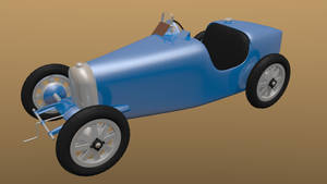 [Blender] Bugatti Type 35 by Dixbit