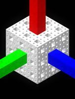 Menger Prism by Dixbit