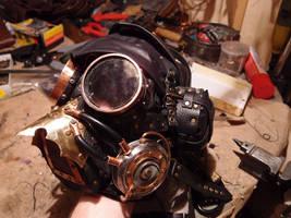 Steampunk mask by ChanceZero