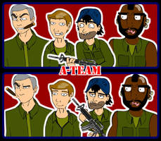 The freaking A-Team by PeppyStevy