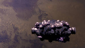 Phobos Station by CareldeWinter