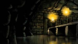 Temple Doorway (Hunters Moon Storyboard) by CareldeWinter