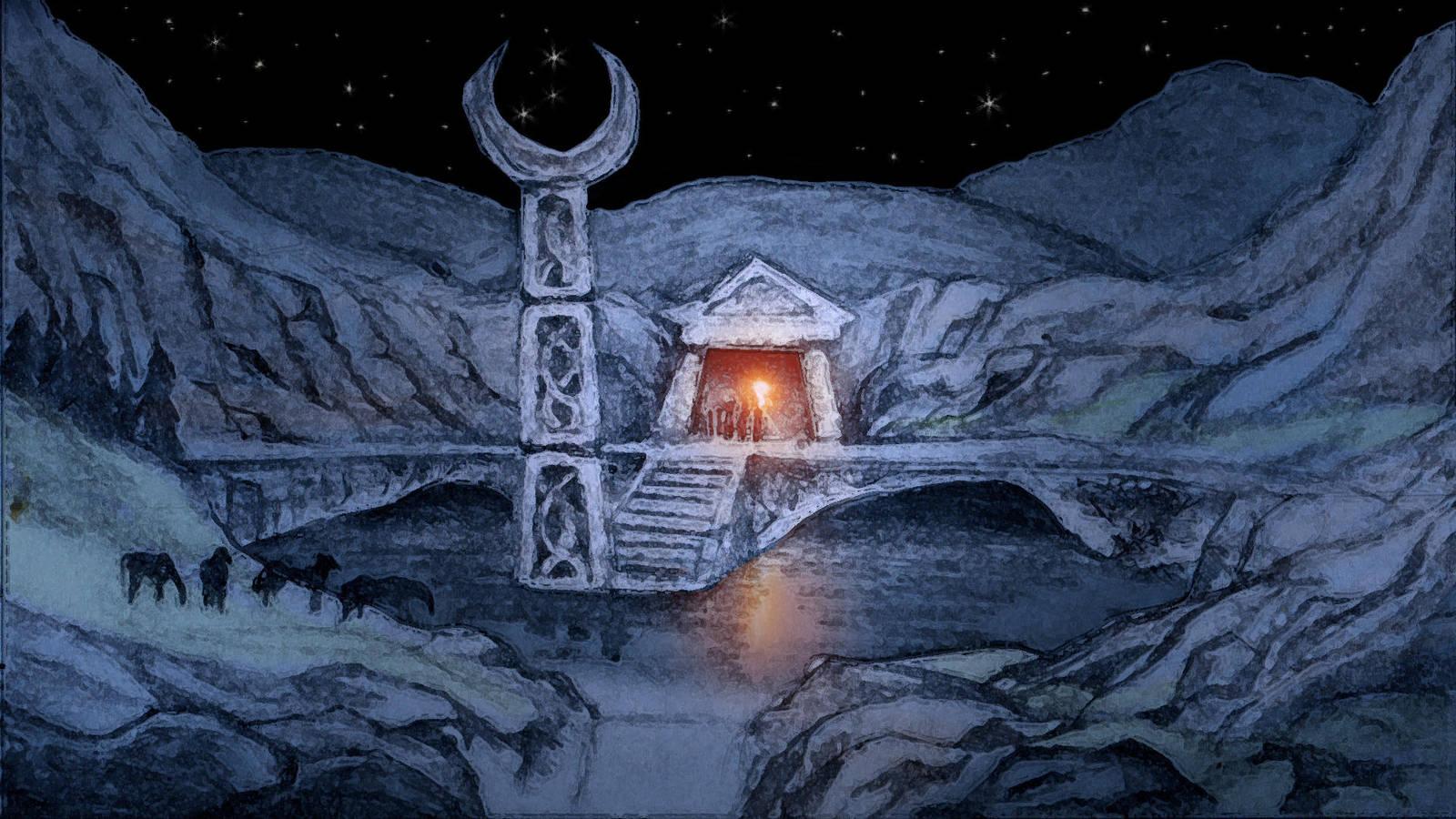 The Pool Of the Moon(HuntersMoon Storyboard) by CareldeWinter