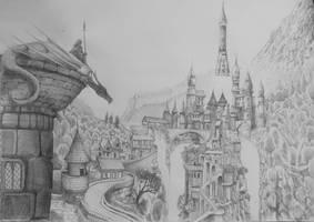 Blenderguru Fantasy Competition Concept by CareldeWinter