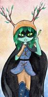 Huntress Wizard - HdA Fanart by KatyInH