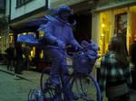 Man on bicycle by Nausicaa-7