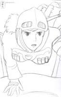 Nausicaa sketch by Nausicaa-7