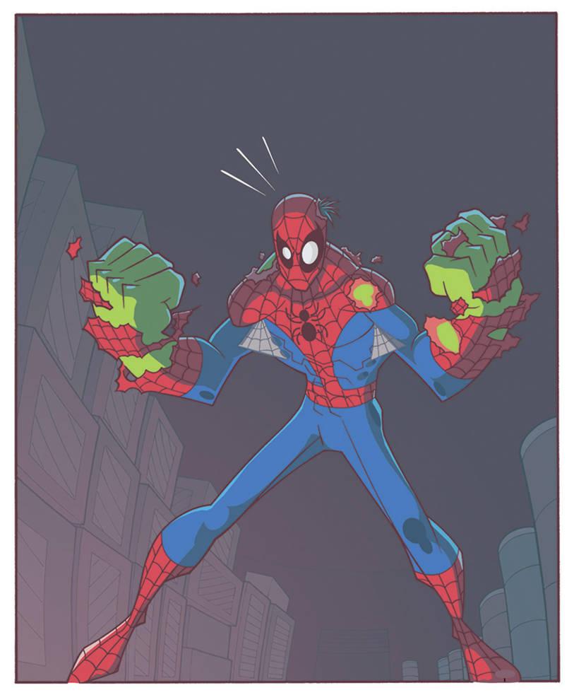 Spider Man Trading Card 2 By Timtownsend On Deviantart