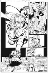 Battle Chasers page 5 by TimTownsend