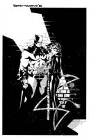 Batman Catwoman commission by TimTownsend