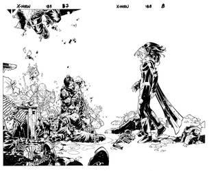 X-Men 188 spread by TimTownsend