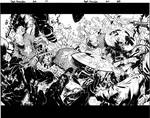 Captain America double pager by TimTownsend