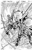 Spawn Spider Man Wizard cover by TimTownsend