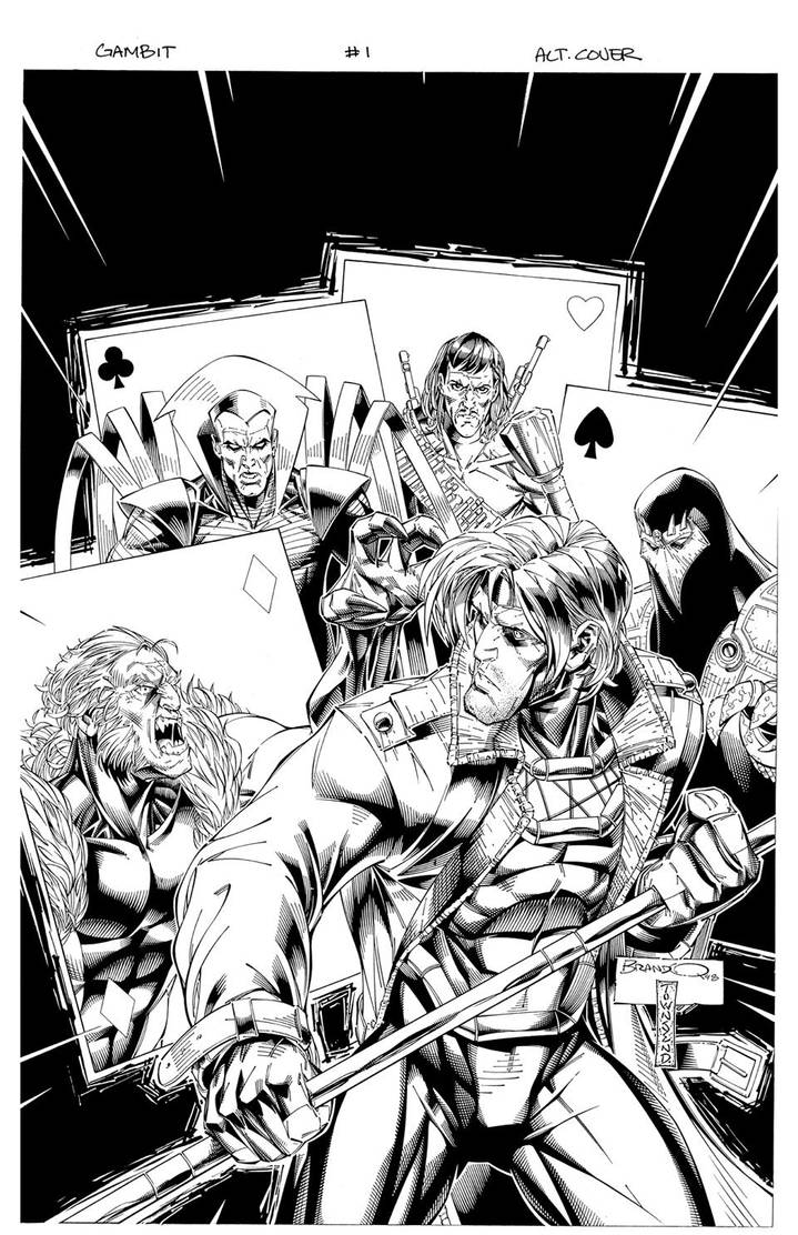 GAMBIT 1 cover by TimTownsend