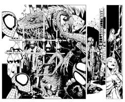 X-Men 8 pgs 2 and 3 by TimTownsend