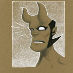 Chip board Hellboy JR by TimTownsend