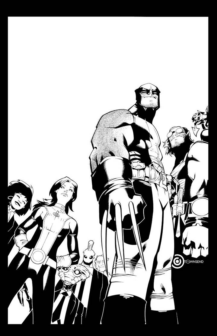 Wolverine and the X-Men #1 cover by TimTownsend