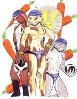 Carrot Smashers Bunny Team by tamalero