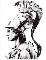 Athena by juliaharrison