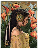 Art Nouveau Padme by juliaharrison