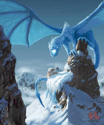 Ice Dragon by Venishi