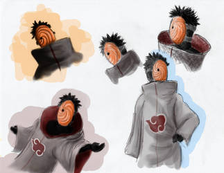 Tobi Sketches by LunarMaddness