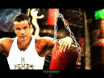 New Poster .. BOXER . E Design by Elhamy