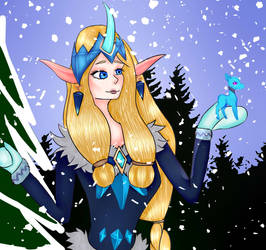 Winter Wonder Soraka by RainbowVilny