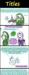 Zelda: Titles by AmukaUroy