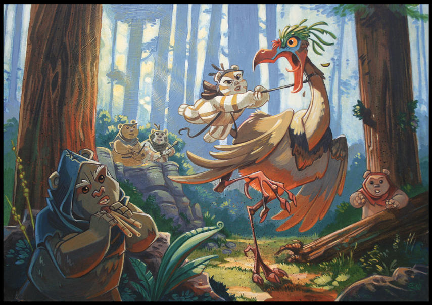 Logray's Churi Bird by PatrickSchoenmaker