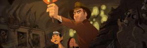 Indiana Jones Banner 2 by PatrickSchoenmaker