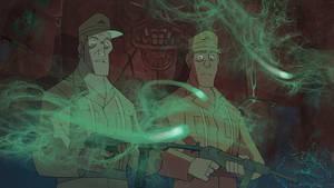 Soldiers Following Lights by PatrickSchoenmaker