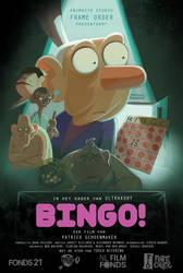 Bingo Poster by PatrickSchoenmaker