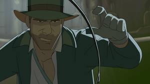 Indiana Jones still frame by PatrickSchoenmaker