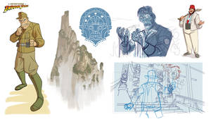Indiana Jones Animated Concept - 05 by PatrickSchoenmaker