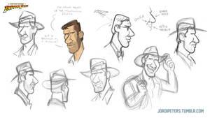 Indiana Jones Animated Concept - 08 by PatrickSchoenmaker